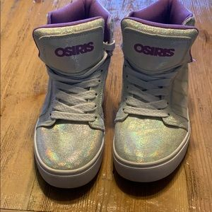 Osiris sparkle high top